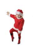 Santa helper. Cute little  Santa helper elf Stock Images