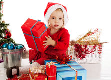 Santa helper Royalty Free Stock Photo