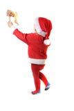 Santa helper Stock Image
