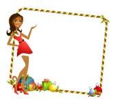 Santa Helper Background 4 Stock Images