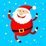 Santa heureuse Images stock