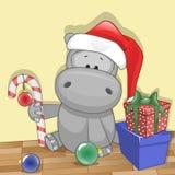 Santa Hippo Fotografía de archivo