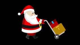 Santa and his trolley