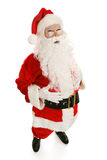 Santa Ho Ho Ho Full View Royalty Free Stock Photography