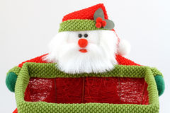 Santa holder Royalty Free Stock Image