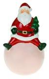 Santa holding Stock Photo
