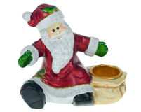 Santa holding Royalty Free Stock Photos