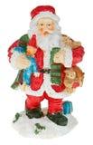 Santa holding Royalty Free Stock Image