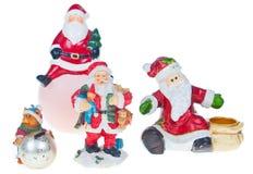 Santa holding Royalty Free Stock Photography