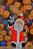 Santa holding the North Star. stock photos