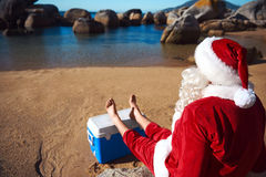 Santa Holiday Royalty Free Stock Photos