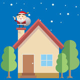Santa House Royalty Free Stock Images