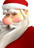 Santa in how you doing Royalty Free Stock Photo