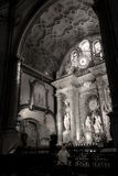 In the Santa Iglesia Catedral Basilica de la Encarnacion Malaga Royalty Free Stock Photography