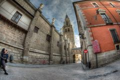 Santa Iglesia Catedral Primada de Τολέδο, Ισπανία στοκ εικόνες με δικαίωμα ελεύθερης χρήσης