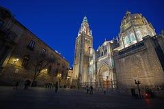 Santa Iglesia Catedral Primada de Toledo Imagen de archivo libre de regalías
