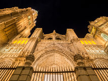 Santa Iglesia cathedral in Toledo Royalty Free Stock Photo