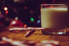 Santa& x27; invitación de s Fotos de archivo