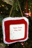 Santa invitation Stock Photos