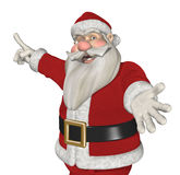 Santa Invites You to Take a Look! Royalty Free Stock Image