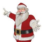 Santa Invites You to Take a Look! Royalty Free Stock Image