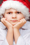 Santa irritada Foto de Stock Royalty Free
