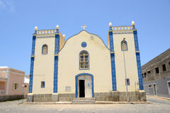 Santa Isabel Church, Boa Vista, Cabo Verde Royalty Free Stock Images