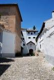 Santa Isabel Monastery, Granada. Stock Photo