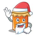 Santa jam mascot cartoon style. Vector illustration Stock Photos