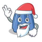 Santa jelly character cartoon style Stock Photography