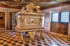 Santa Joana princess tomb in Aveiro Royalty Free Stock Photo