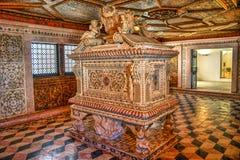 Santa Joana princess tomb in Aveiro Stock Photo