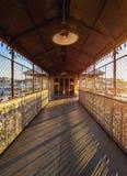Santa Justa-Aufzug in Lissabon Lizenzfreie Stockfotografie