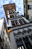 Santa Justa Elevator. In Lisbon, Portugal Royalty Free Stock Photo