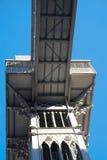 Santa Justa Elevator Arkivfoton