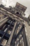 Santa Justa elevator i Lissabon Royaltyfria Foton