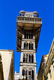 Santa Justa elevator Royalty Free Stock Images