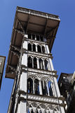 Santa Justa Elevator in Lisbon Stock Image