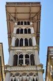 Santa Justa elevator, Lisbon Royalty Free Stock Image