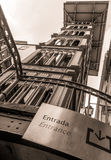 Santa Justa Elevator Royalty Free Stock Photo