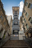 Santa Justa elevator in Lisbon, Portugal Stock Images