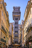 The Santa Justa Elevator Lisbon Portugal Stock Images