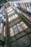 Santa Justa elevator in Lisbon, Portugal Stock Photos