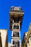 Santa Justa-lift Royalty-vrije Stock Afbeeldingen