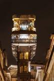 Santa Justa Lift Royalty Free Stock Images