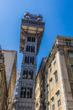 The Santa Justa Lift also called Carmo Lift is an elevator in Li Royalty Free Stock Photos