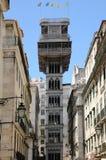 Santa Justa lift in Lisbon. Portugal, the Santa Justa lift in Lisbon Royalty Free Stock Images