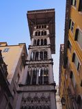 Santa Justa Lift in Lisbon Stock Photos