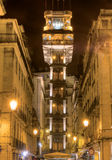 Santa Justa Lift  Lisbon, Portugal Royalty Free Stock Photos