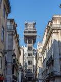 Santa Justa Lift. Stock Photo